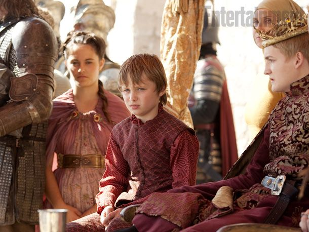 Tommen Baratheon (Callum Wharry) Game of Thrones