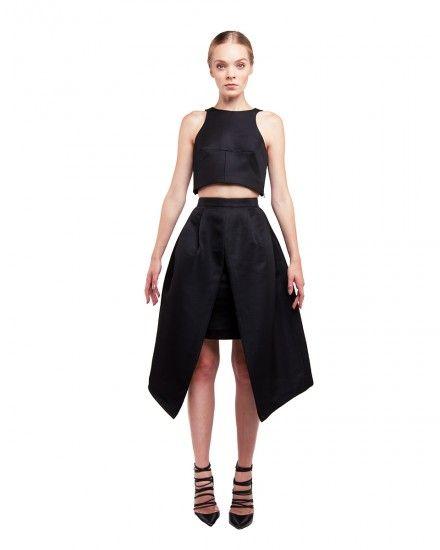 Two Piece Midi Dress