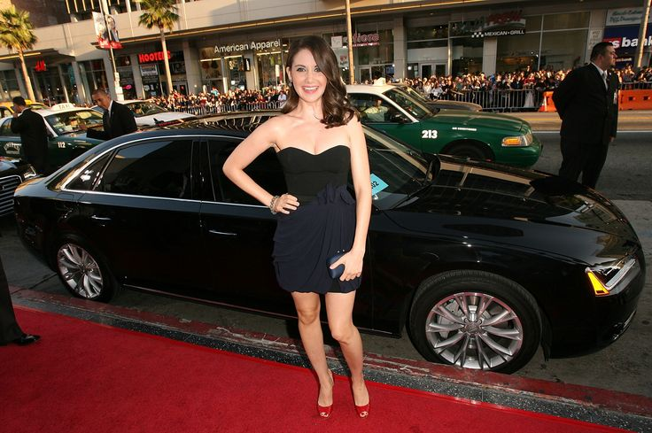 Photo of Alison Brie - car