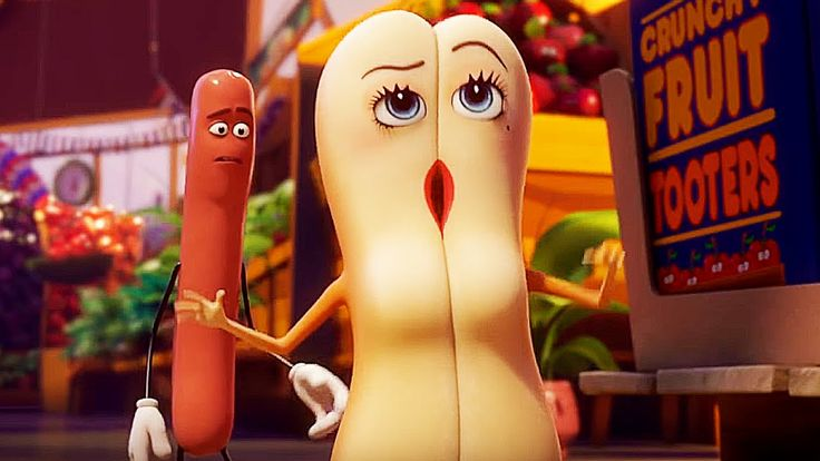SAUSAGE PARTY Red Band Trailer #2 (2016)