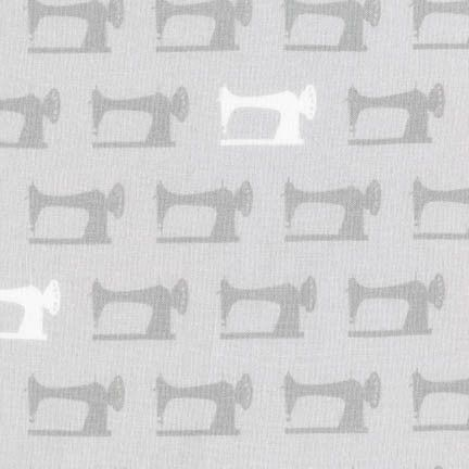 Robert Kaufman - Sewing Studio (Grey) Fabric