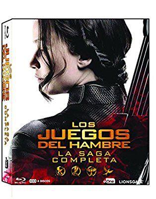 Los Juegos Del Hambre - La Saga Completa Blu-Ray 2016 Blu-ray: Amazon.es: Jennifer Lawrence, Josh Hutcherson, Liam Hemsworth, Gary Ross, Francis Lawrence: Cine y Series TV