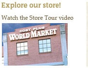 Remember World Market for the home