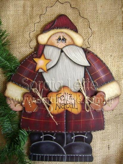 Kit para pintar - Noel com Ginger