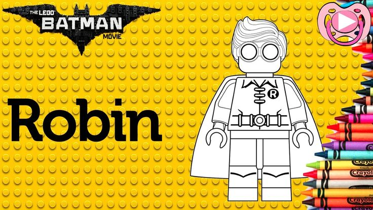 Lego Batman 2017   Colorir o Robin