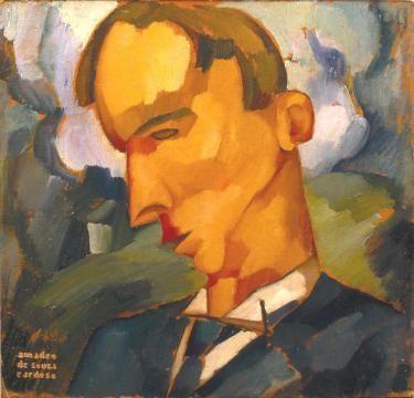 Sorrows, heads (1914) Amadeo de Souza-Cardoso