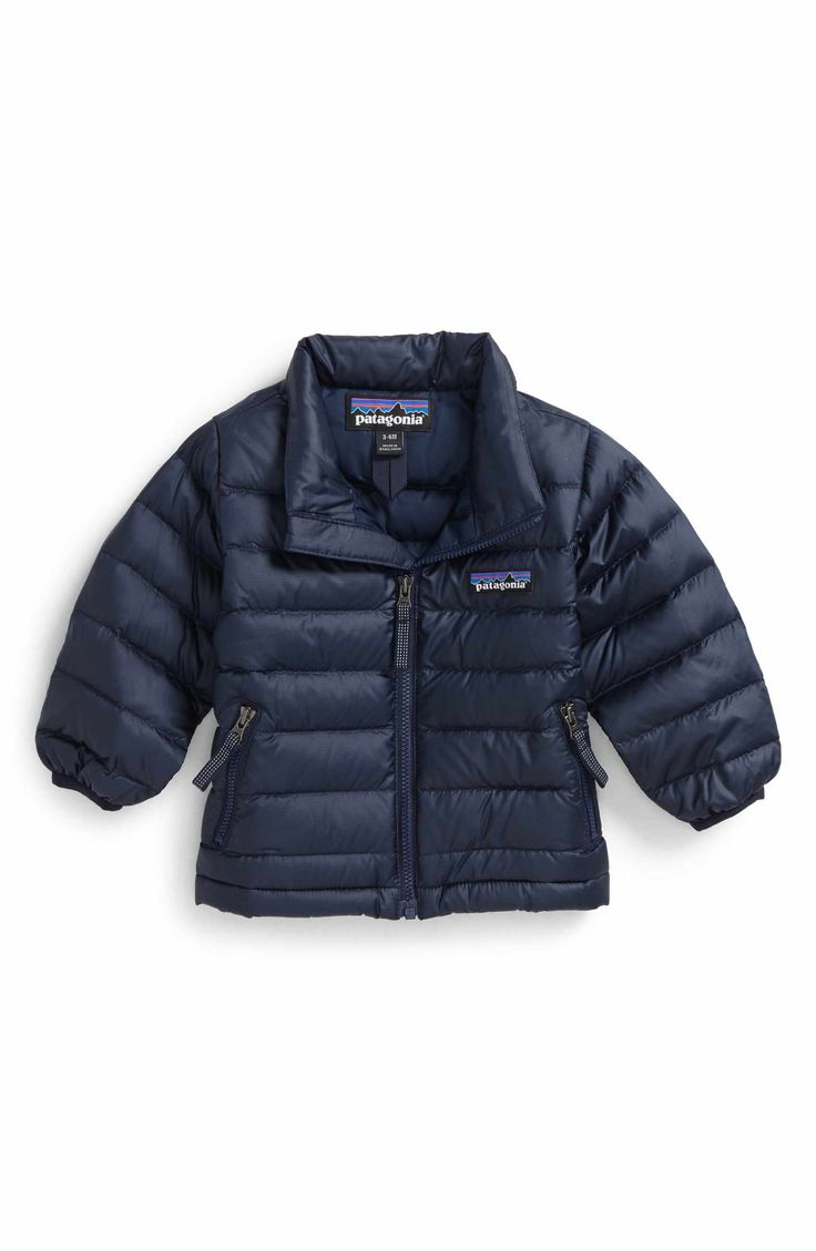 Main Image - Patagonia Down Sweater Jacket (Baby Boys)