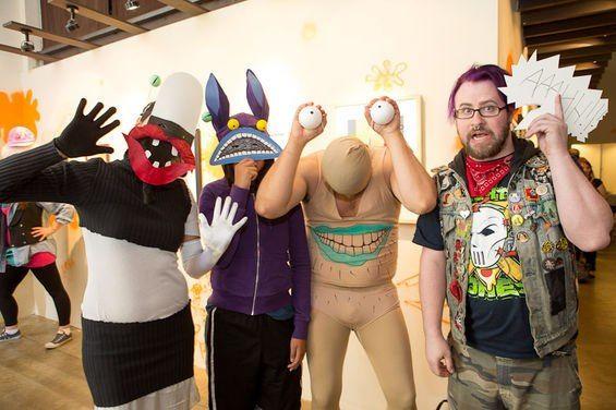 Aaaaah Real Monsters costumes