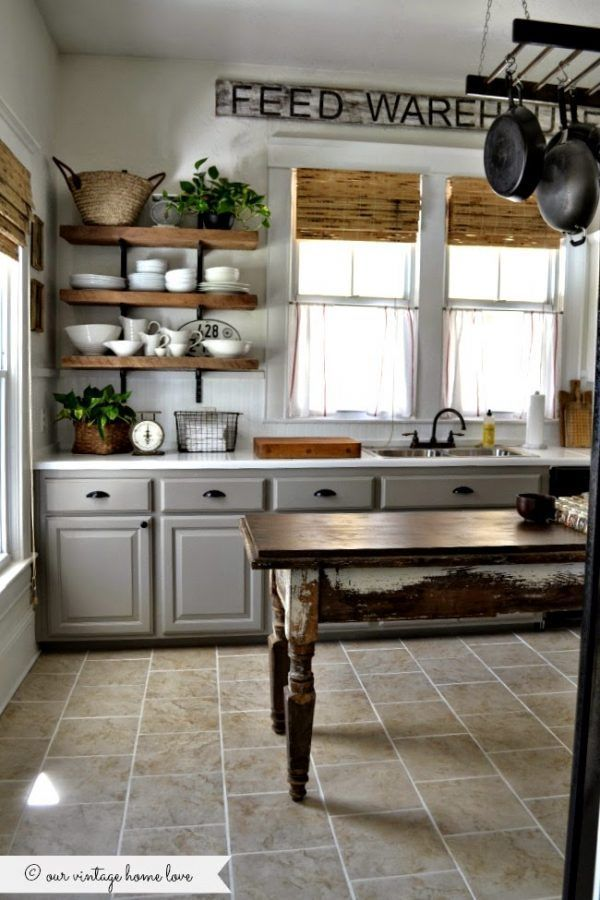 17 best ideas about farmhouse kitchens on pinterest for Farmhouse kitchen ideas