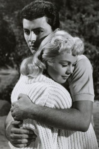 Sandra Dee as Gidget with James Darren as Moondoggie.  Loved, loved, LOVED this movie.