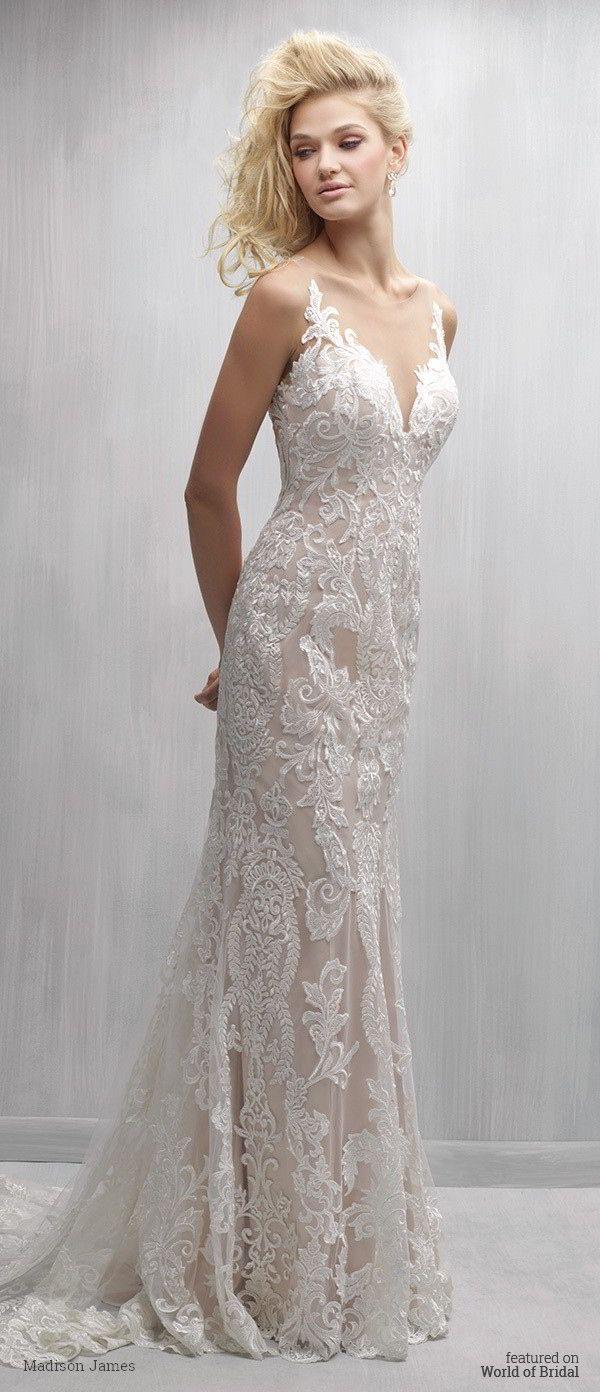 Madison James Wedding Dresses - Country Dresses for Weddings Check more at http://svesty.com/madison-james-wedding-dresses/