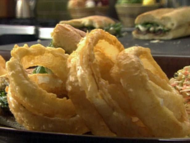 1150 best tyler florence images on pinterest postres tyler get tempura battered onion rings recipe from food network forumfinder
