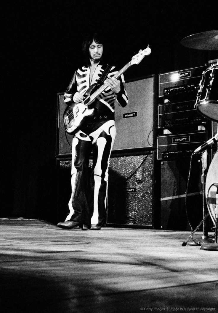 "John Entwistle...The Side Man of The Who, One of Rock's ""Starting Metal Days"" Masters...John Is Missed Greatly!!"