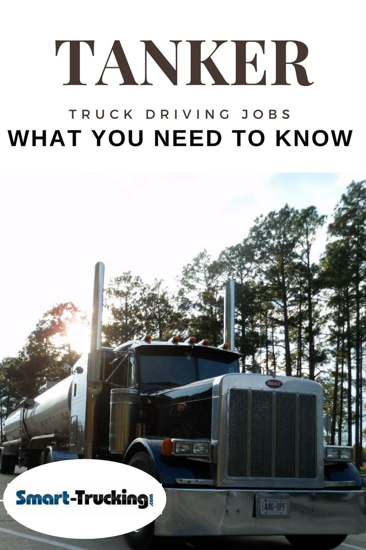 EVERYTHING YOU NEED TO KNOW ABOUT TANKER TRUCK DRIVING JOBS  - If you're thinking about getting into a truck driving job, hauling tankers, this article (and video) gives great information about the tanker hauling trucking niche  - one of the best paying niches in the trucking industry.