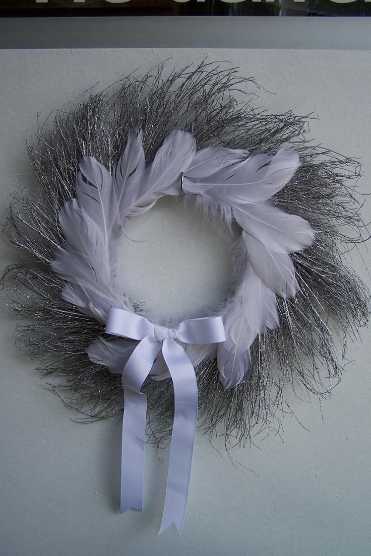 Wispery Lavender Wreath  ~