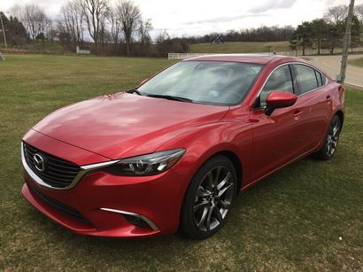 2016 Mazda Mazda6 Grand Touring Driving Impressions