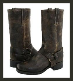 motorcycle boots. oh yea, if someone wants to get me these go ahead I'll love you forever