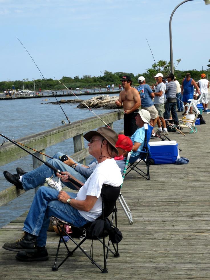 Fishing pier at jones beach in wantagh new york always for Fishing long island