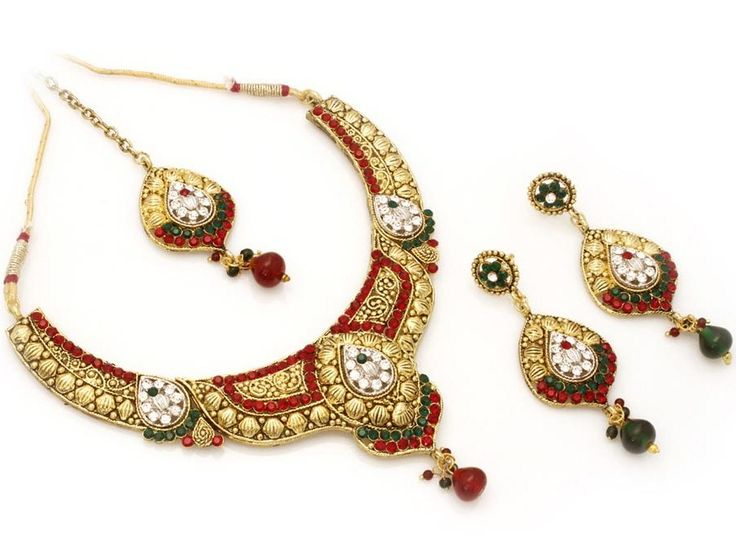 Fashionable Indian Wedding Necklace