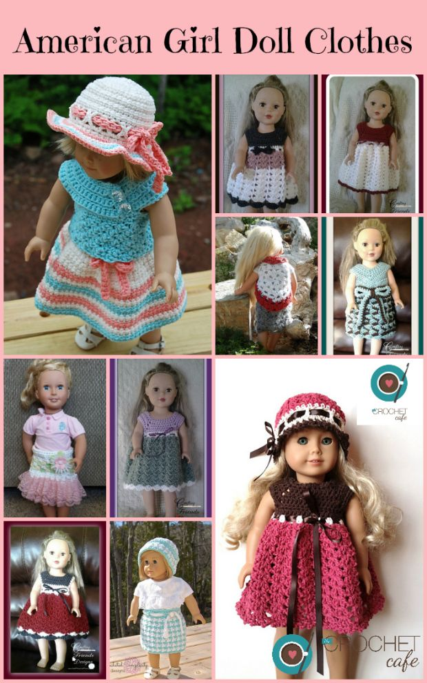 Crochet Patterns for American Girl Doll Clothes
