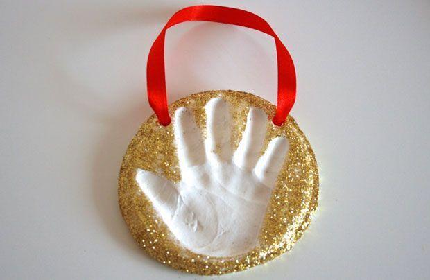 CBC Parents - Activities - Keepsake Craft: Baking Soda Clay Handprint Ornaments