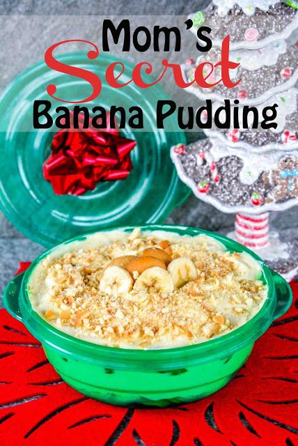 Homemade Banana Pudding from Scratch #ad #ShareTheHoliday