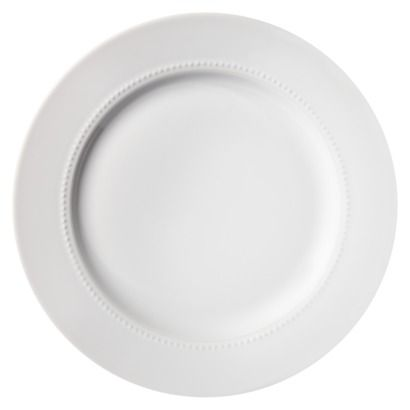 Threshold™ Round Beaded Dinner Plate Set of 4 - White. Not exactly \u0027fine  sc 1 st  Pinterest & 133 best Fine China images on Pinterest | Dishes Dinner plates and ...