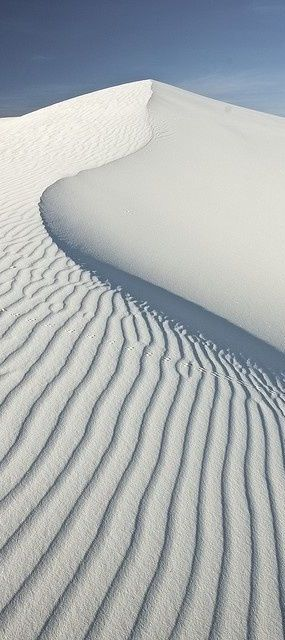 White Sand Dunes are great to sled down! - www.MonseyTours.com