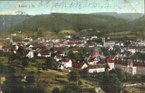 Lahr, Germany 1909