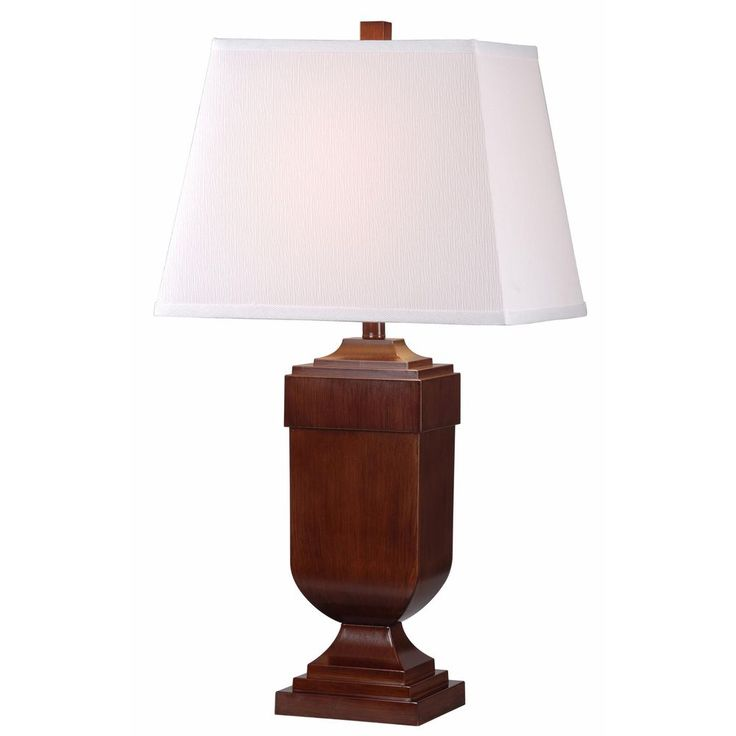 16 best wood table lamps images on pinterest product page eaton 1 light mahogany wood table lamps set of 2 overstock mozeypictures Images