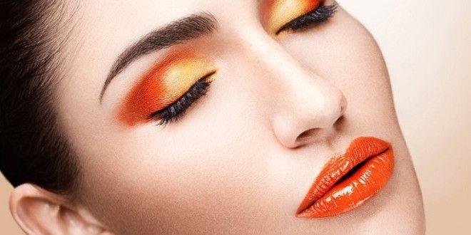 Trucco arancione di tendenza per l'estate 2014 | Vivo di Benessere