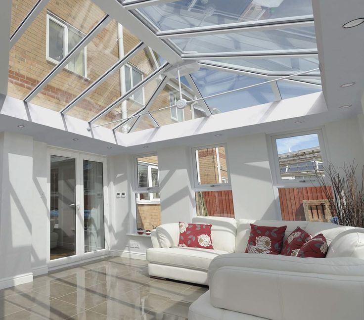 Live In Room Conservatories  Beautiful & White. http://www.finesse-windows.co.uk/orangeries.php