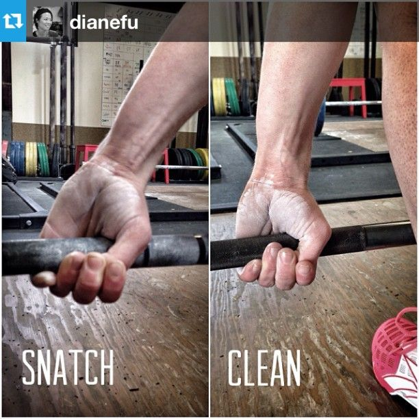How do you grip the bar? A cool shot reminding you of the ...