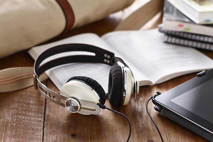 Music is up so loud right now, but the neighbors won't be disturbed. All thanks to  #SennheiserUSA's new headphones!  http://hellogiggles.com/sennheiser-momentum-on-ear-headphones