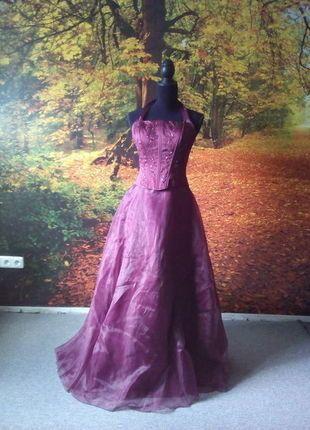 Kaufe meinen Artikel bei #Kleiderkreisel http://www.kleiderkreisel.de/damenmode/kleider-abendkleider/137230166-abendkleid-brautkleid-bordeaux-rot-ruckenfrei-tull-gr-3638