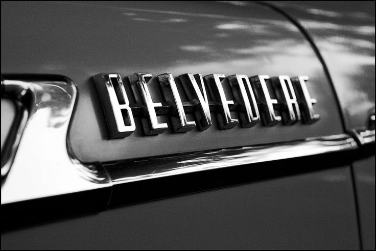 Chromeography | Metal logos, lettering, emblems, and badges affixed to vintage autos and appliances