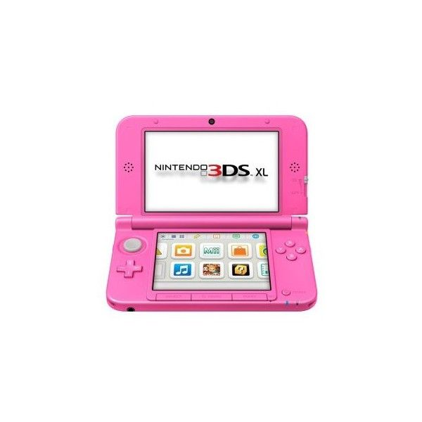 Pink 3DS XL coming to the UK next month first pictures ❤ liked on Polyvore featuring electronics