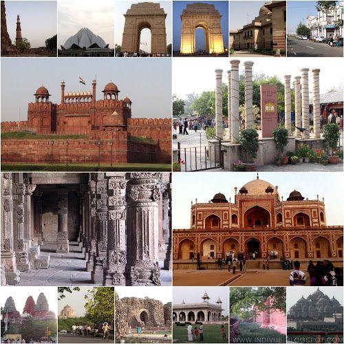 Intian New Delhin parhaimmat nähtävyydet, ravintolat ja hotellit