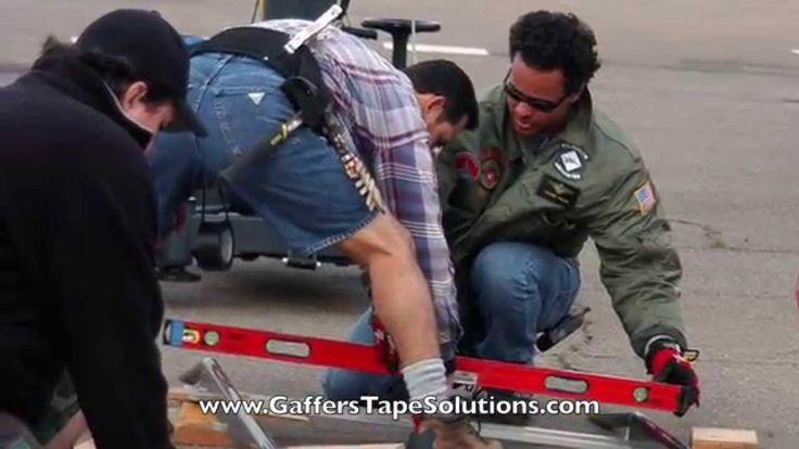 Black Gaffers Tape | Gaffers Tape Solutions  http://www.amazon.com/Gaffers-Tape-Solutions-Professional-Waterproof/dp/B00Y23YYTY/
