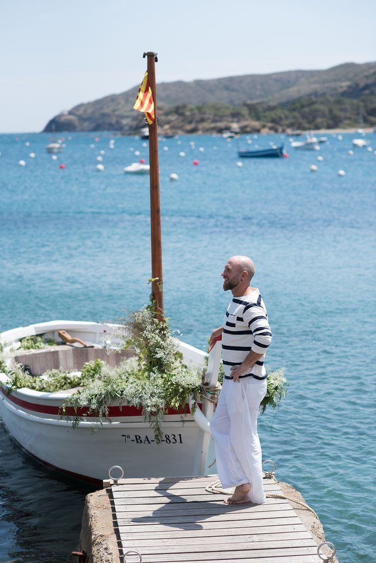 wedding in Cadaques, wedding boat in Spain