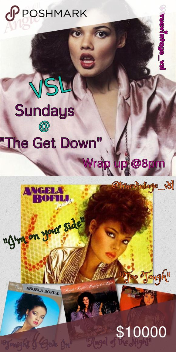 """1/29 VSL SUNDAY @ """"The Get Down"""" Sign Up Sheet. ❤️PLEASE ONLY TAG YOUR NAME HERE❤️ You may begin sharing @9am YOUR TIME SIGN UP CLOSES @ 5pm PT, 6pm MT, 7pm CT, 8pm ET PLEASE CHECK BACK  for new additions to the list. Remember to sign out when you're done by 2am 💚YOUR💚time. This is an all day share day so be sure to bookmark your place with emojis to keep up from where you left off. Please share 8 VINTAGE ITEMS from each closet signed up. Have fun and thanks for joining us today! Vintage…"""