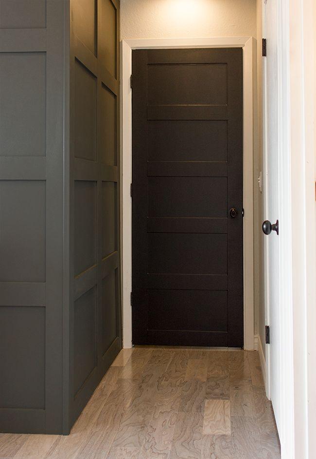 Best 25 2 panel doors ideas on pinterest interior panel doors 2 panel interior door and 4 - Cat door for hollow core door ...
