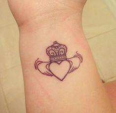 Irish Claddagh Tattoo Foot 1000  ideas about irish claddagh tattoo on ...