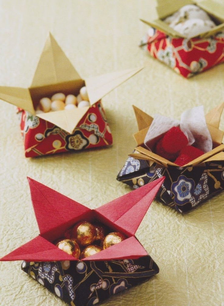 Easy Origami Star Box