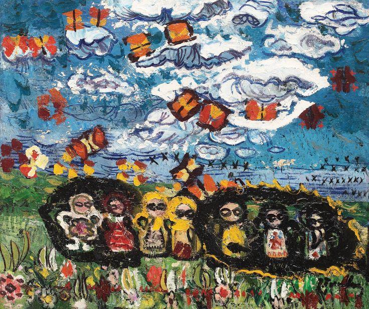 Ion Tuculescu, Păpușile, norul și fluturii