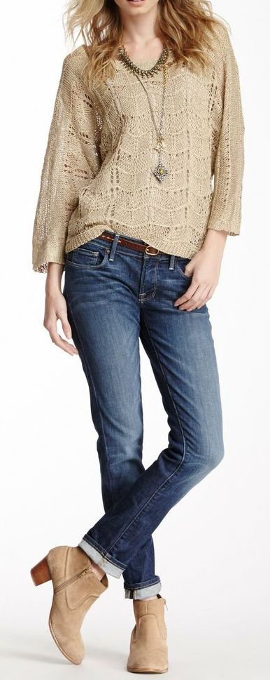 Lucky Brand Cate Stacked Skinny Jean