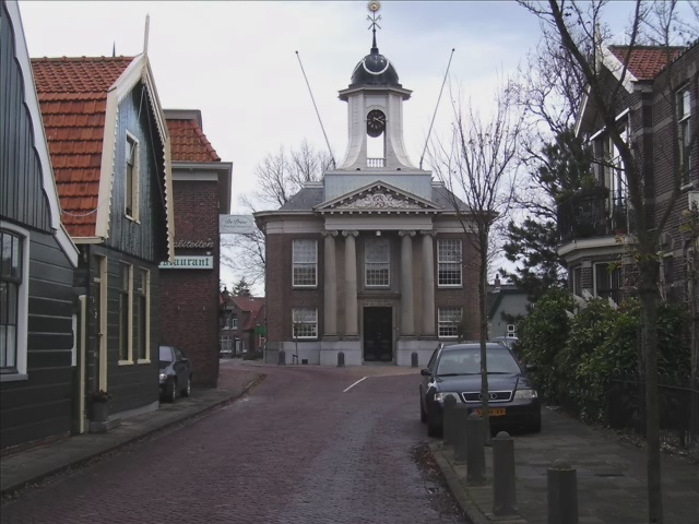 westzaan my village, Town Hall, my parents married here.