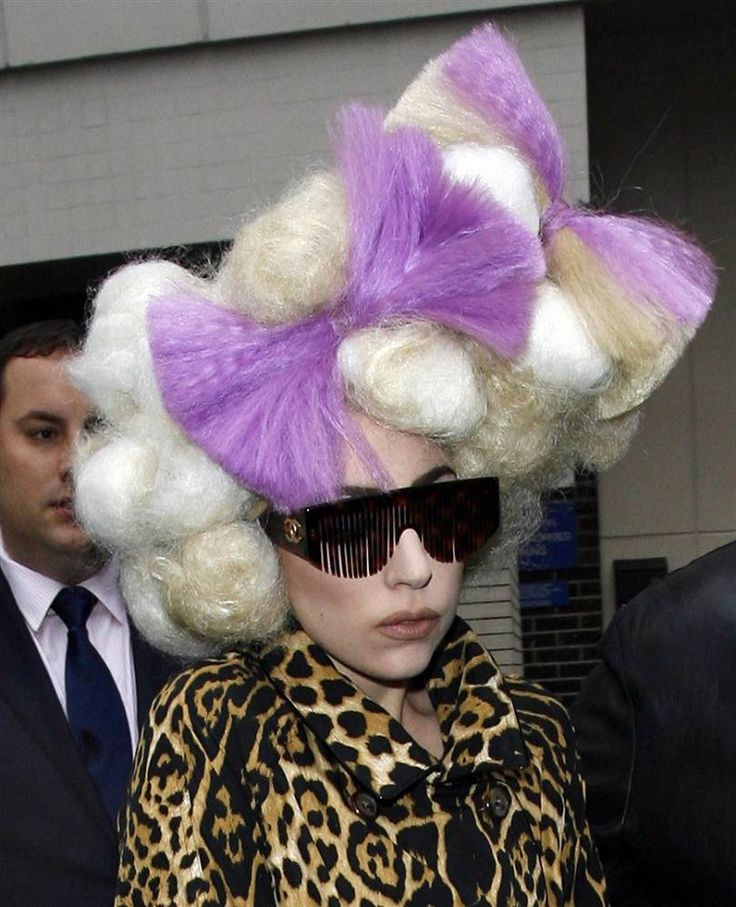 Far too much,Lady Gaga hairstyles