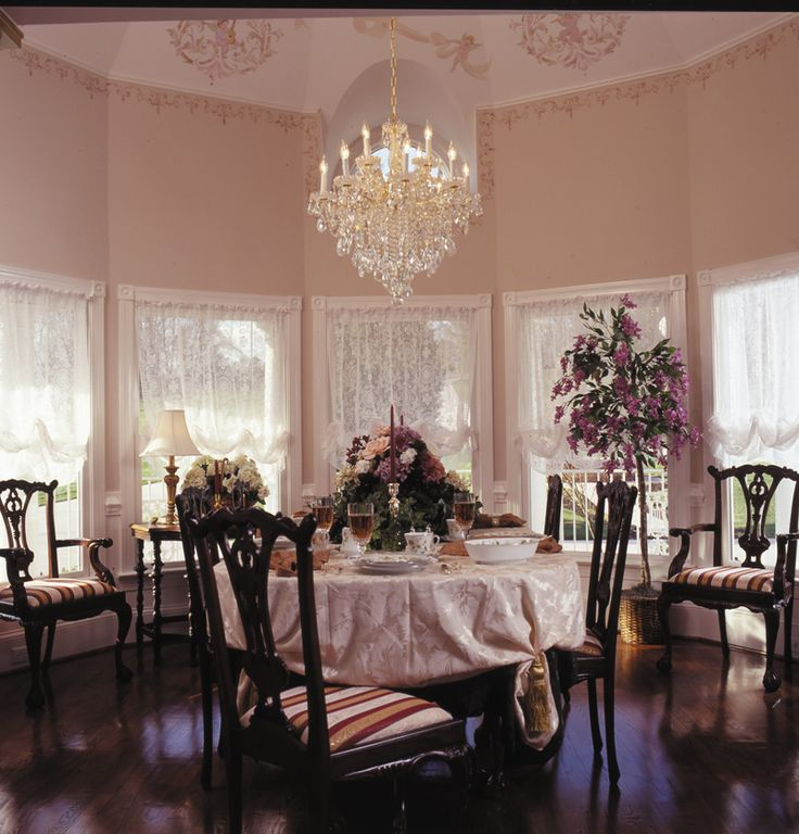 Formal Victorian Style Dining Room
