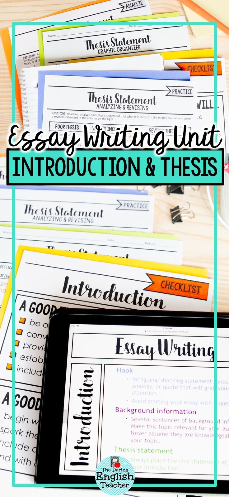 Helping Your Students Improve their Essay Writing